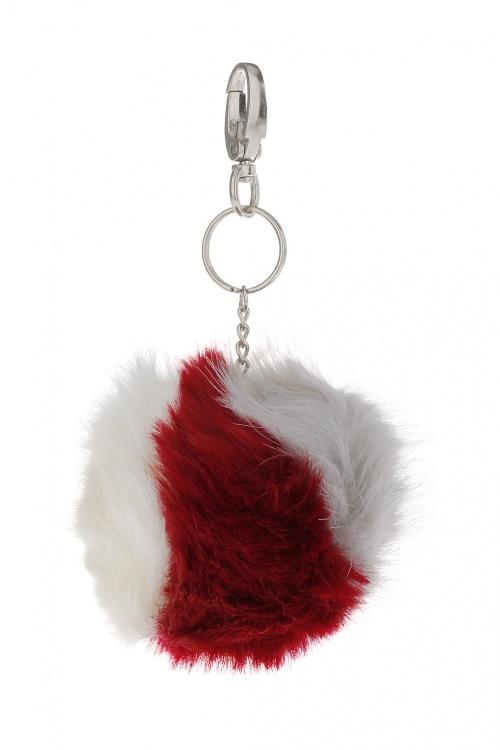 Topshop - porte-clefs bicolore rouge blanc