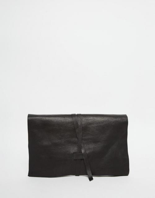 pochette asos noire