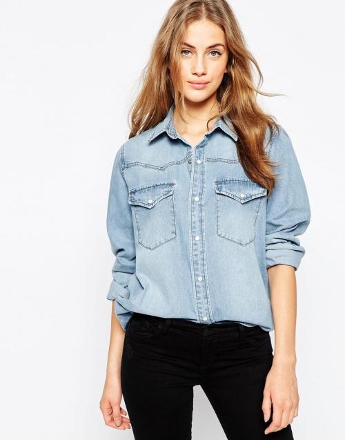 chemise en jean asos