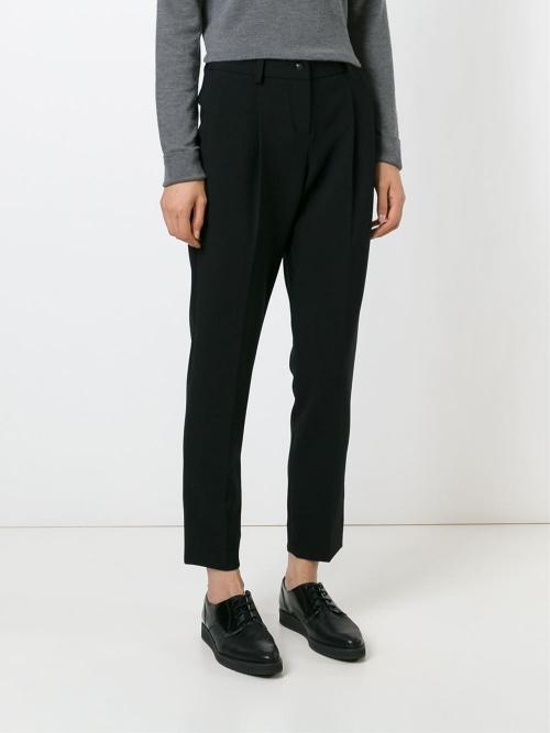 pantalon noir emporio armani