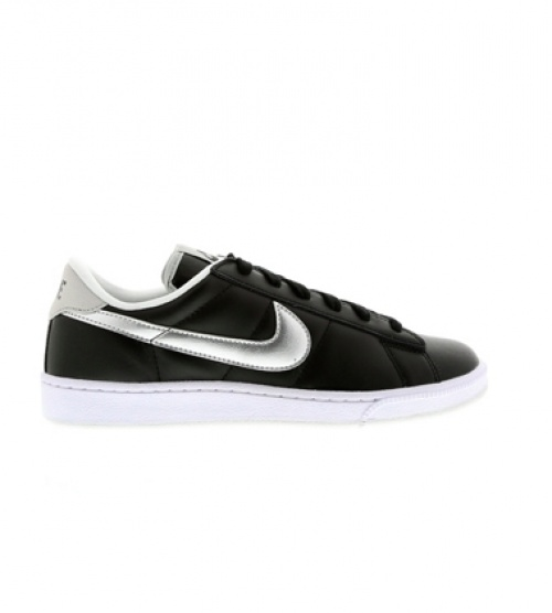 Nike - Baskets argent et noires