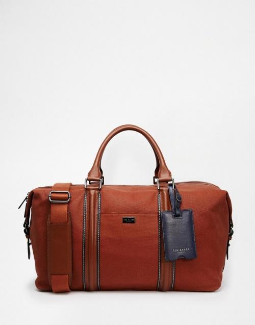Ted Baker - sac de voyage cuir homme