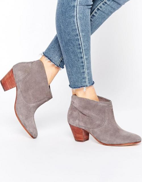 boots grises hudson london