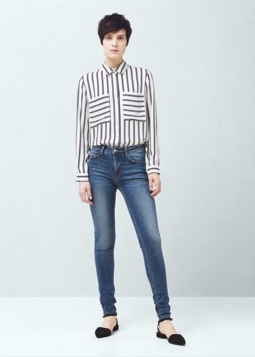 jeans mango skinny