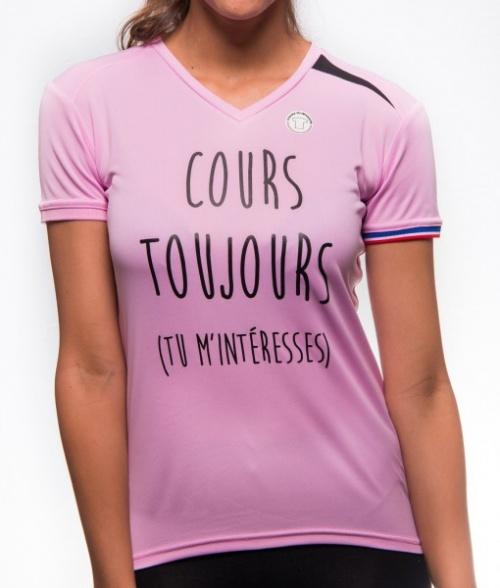 Coureur du dimanche - t-shirt inscription motivation humour