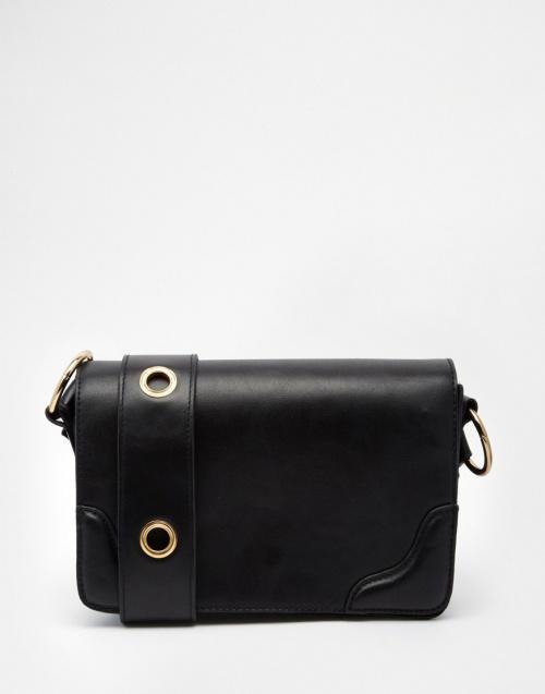 asos sac bandoulière noir