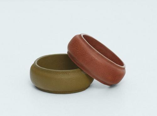 Mango - bracelet bicolore cuir