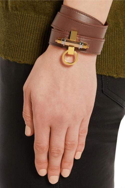 Givenchy - bracelet cuir manchette
