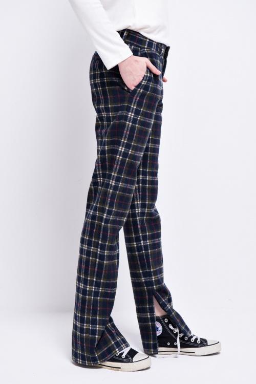 Front Row Shop - pantalon fendu