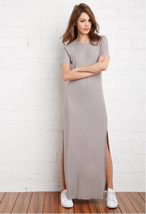 Forever 21 - robe longue fentes