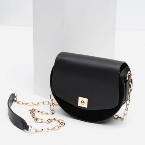 Zara - Sac mini pochette noire