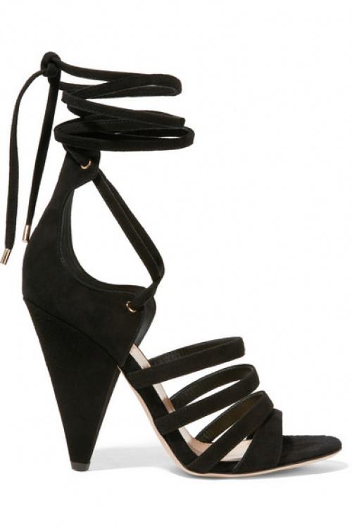 Tamara Mellon - sandales noires talon asymétrique