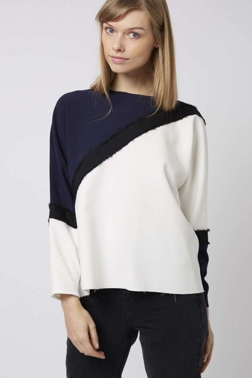 Topshop - sweat color blocks