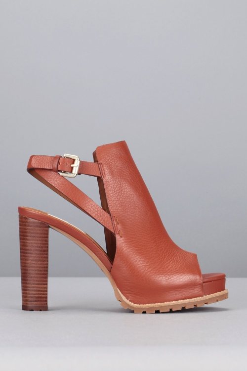 See by Chloé - boots découpe camel