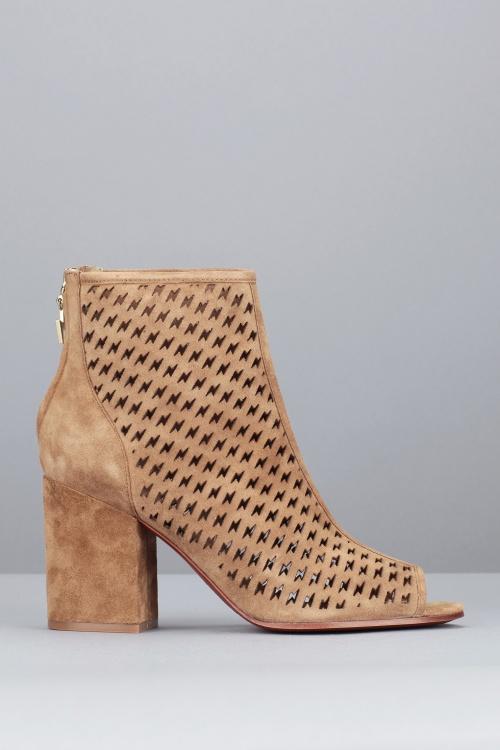 Ash - boots ajourée mini talon