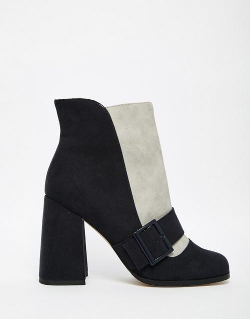 Asos - boots noeud bicolor