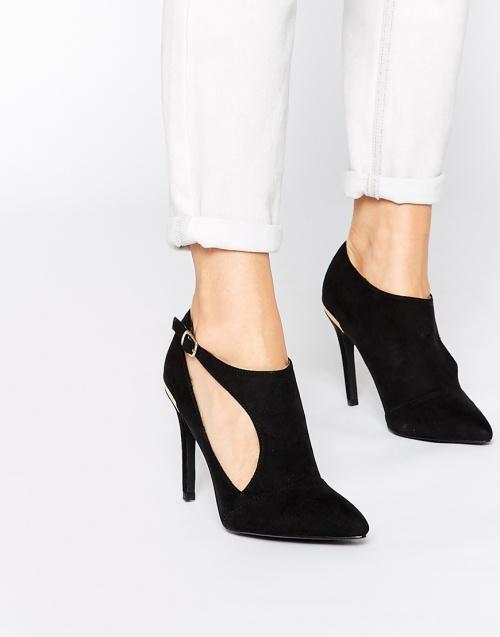 New Look - escarpins noirs ajourés