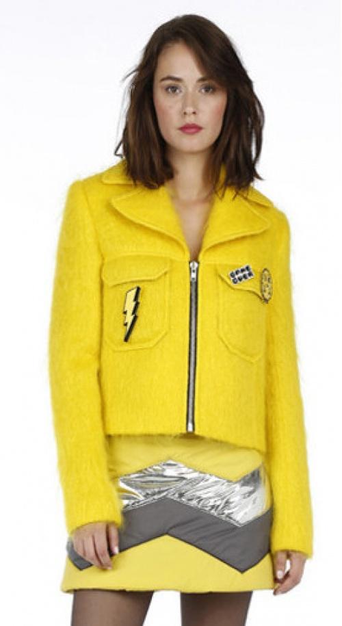 American Retro veste jaune
