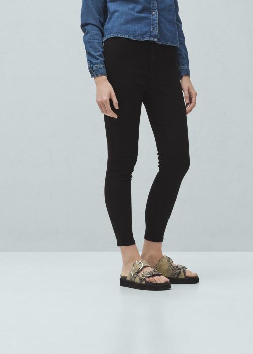 jeans noir skinny mango
