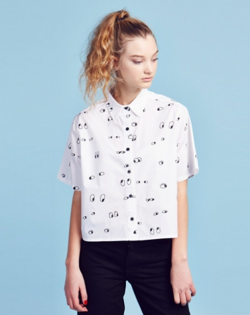 Lazy Oaf chemise oeil