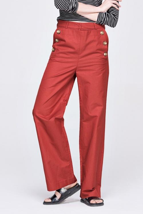 Front Row Shop - Pantalon double boutonnage