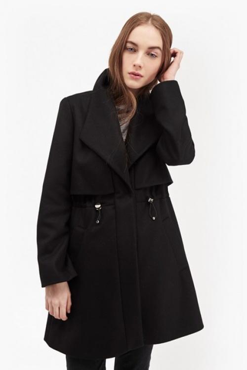 French Connection  manteau noir