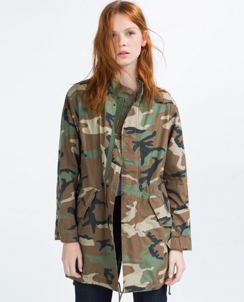 Zara blouson militaire