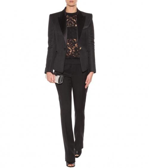 Givenchy  sweat dentelle noire