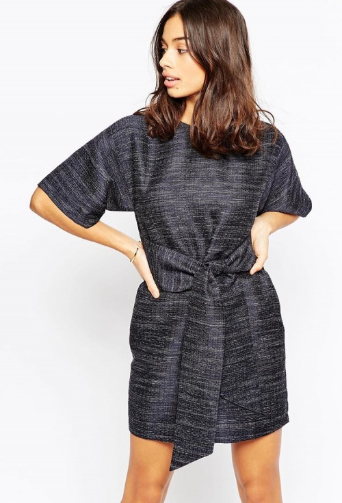 Asos - Robe noeud taille