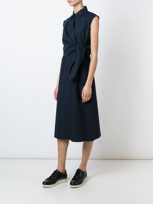 J.W. Anderson - Robe chemise à noeud