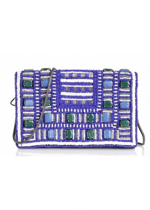 Suncoo pochette ethnique perles