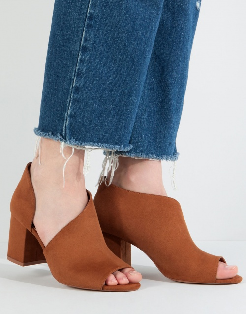 Pull & bear bottines ouvertes