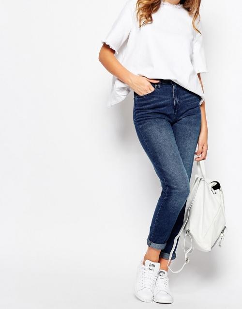 jeans waven brut