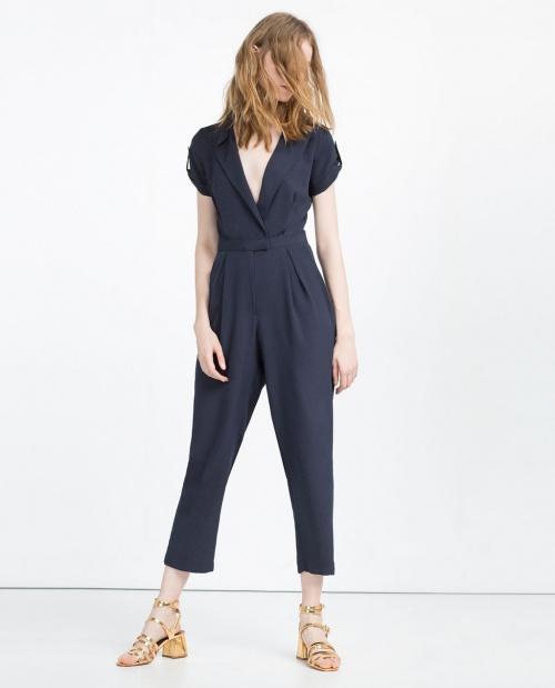 Zara  combinaison smocking