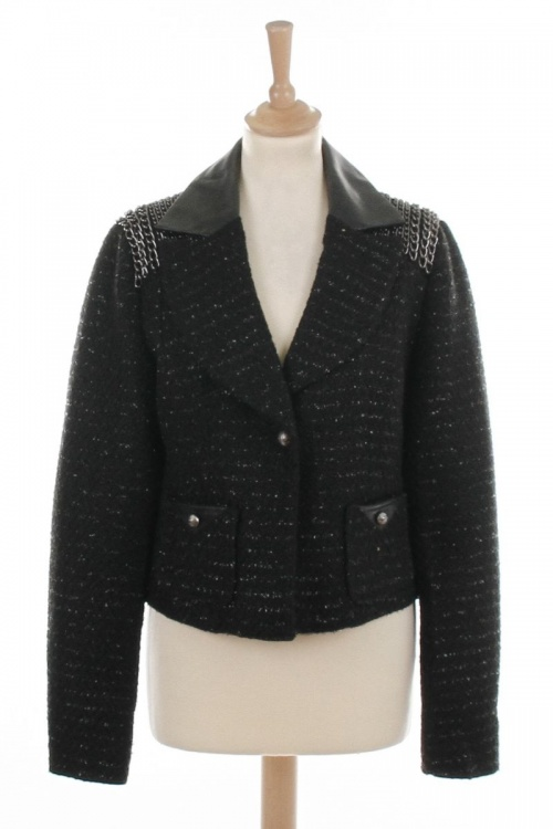 Guess - Veste chaine et tweed