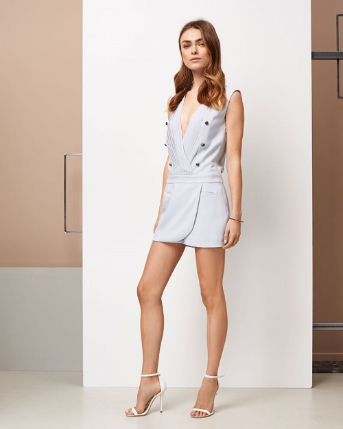 Supertrash - Robe façon smocking