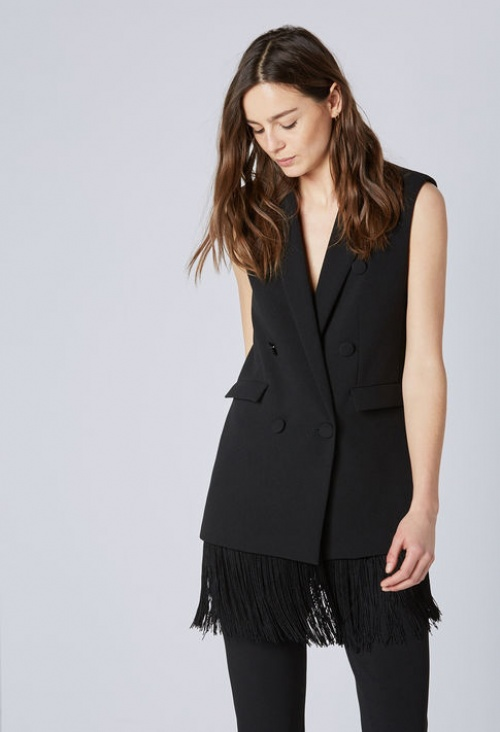 Claudie Pierlot - Veste smocking