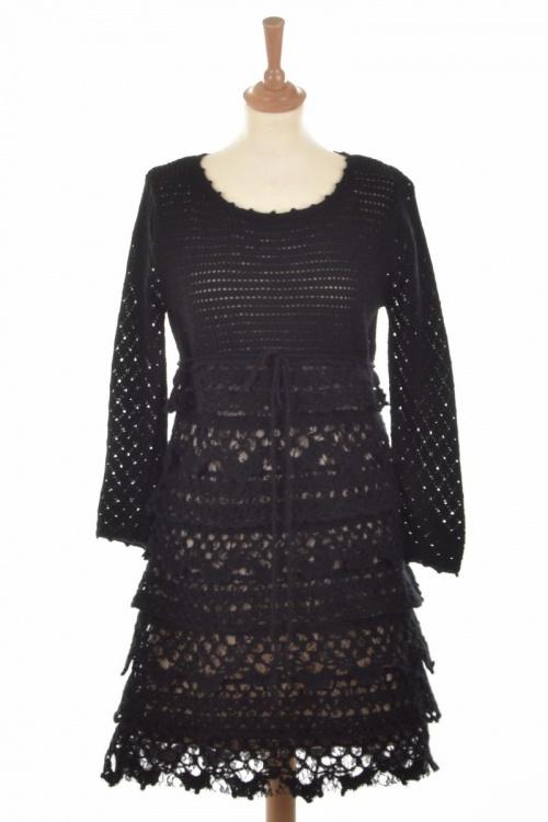 Dehry - Robe dentelle noire