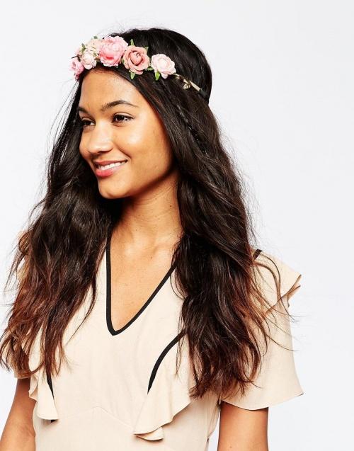 headband asos fleurs