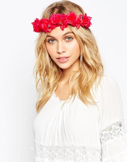 headband fleurs asoso