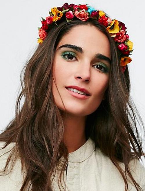 free people headband fleurs