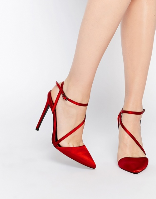 Asos - Escarpins rouge