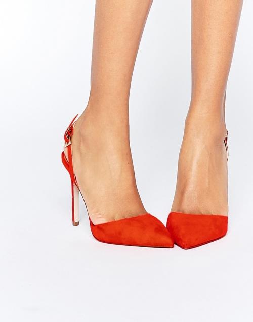 Asos - Escarpins rouge