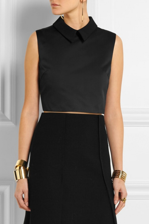 MCQ Alexander Mc Queen  chemise cropped