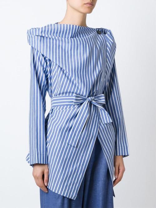 Vivienne Westwood Anglomania chemise cintrée ceinture