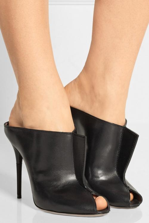 Maison Margiela boots mules open toe