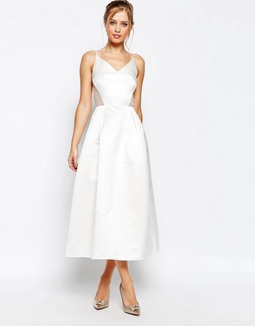 Jarlo - Robe de mariée ajourée simple