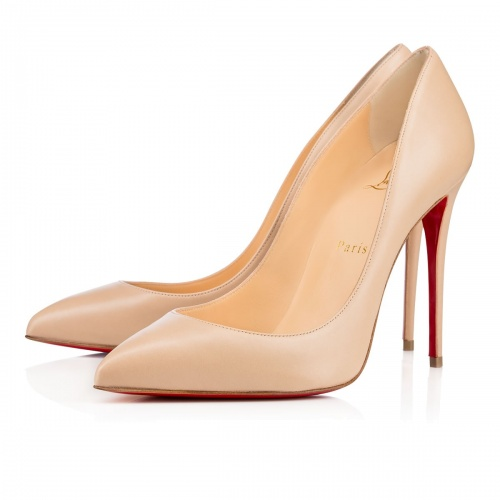 Escarpins Mathilda louboutin nude color