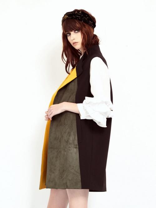 sister jane veste sans manche tricolore