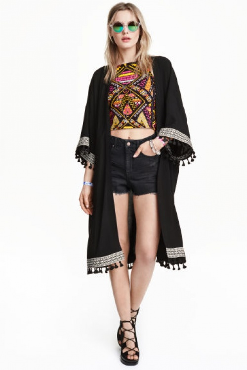 Kimono h&m loves coachella